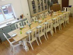 101214161820 Seater Dining Table2 Oak Planked TopTriple Infinite Optn