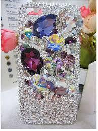 New Arrival Diamond Hard Back Mobile Phone Case Cover Rhinestone