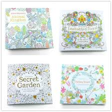 English Edition Fantasy Dream Enchanted Forest Animal Kingdom Secret Garden An Inky Treasure Hunt Coloring Book 24 Pages For Children Adults Colouring