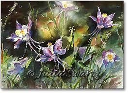 Water Color Paintings Flowers