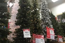 Pre Lit Slim Christmas Tree Asda by Christmas Michaelstmas Tree Cashmere Unlit Led Prelit