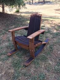 Adirondack Rocking Chair Woodworking Plans by Wine Barrel Adirondack Child