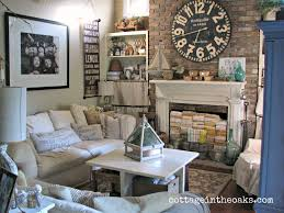 Cottage Living Rooms Plus Home Decor Country Style Contemporary Designs