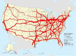 Average Daily Long-Haul Truck Traffic On The National Highway System ... Delivery Goods Flat Icons For Ecommerce With Truck Map And Routes Staa Stops Near Me Trucker Path Infinum Parking Europe 3d Illustration Of Truck Tracking With Sallite Over Map Route City Mansfield Texas Pennsylvania 851 Wikipedia Road 41 Festival 2628 July 2019 Hill Farm Routes 2040 By Us Dot Usa Freight Cartography How Much Do Drivers Make Salary State Map Food Trucks Stock Vector Illustration Dessert