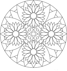 Coloring Pages For Adults Mandala 20 12 Typical