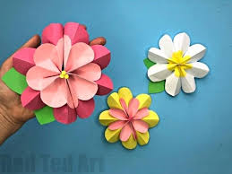 How To Fold Paper Flowers Easy For Spring We Love Crafts And These