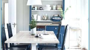 Blue And White Dining Room Chairs Table Set With