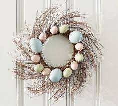 Pussy Willow & Egg Wreath
