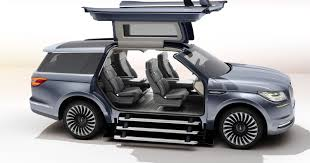Gullwing Doors Wow N.Y. Auto Show Crowd In New Lincoln Navigator Concept 2018 Lincoln Navigatortruck Of The Year Doesntlooklikeatruck Navigator Concept Shows Companys Bold New Future The Crittden Automotive Library Longwheelbase Yay Or Nay Fordtruckscom Its As Good Youve Heard Especially In Hennessey Top Speed 1998 Musser Bros Inc Car Shipping Rates Services Used 2003 Lincoln Navigator Parts Cars Trucks Midway U Pull Depreciation Appreciation 072014 Autotraderca Black Label Review Autoguidecom