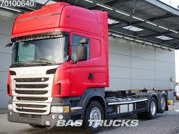 100 Truck Retarder SCANIA R440 6X2 Euro 6 Liftachse Standklima Container