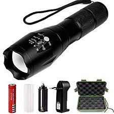 hootech torche le de poche led zoomable et rechargeable avec 5