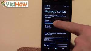 Move Apps from SD Card to Microsoft Lumia 535 VisiHow