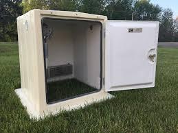 Decorative Outdoor Well Pump Covers by Fiberglass Weatherproof U0026 Maintenance Free Shelters Virtual