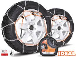 Snow Chains- Ideal - Size 12 - SnowChainsandSocks.co.uk