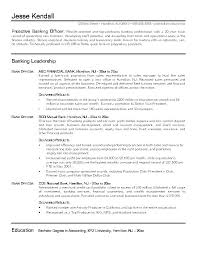 Banking Resume Samples Bank Branch Manager Retail Examples For Industry