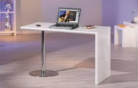 bureau pas chere bureau pas cher bureau table d appoint design blanc chromé paxy