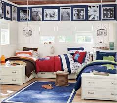 Boys Bedroom Wall Decor Amazing Interior Design Fabulous Ideas For Triplets With