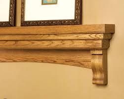 ellsworth wood mantel shelf fireplace mantel shelves