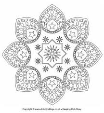 Eid Design Colouring Page 2