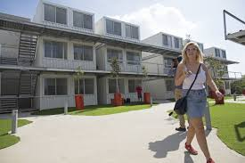 100 Living In Container Israeli Students Find Affordable Housing In Shipping