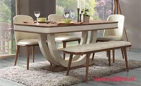 panama esstisch 4 stühle und eine bank stilev möbel