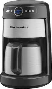 Best Buy KitchenAid 12Cup Thermal Carafe Coffeemaker Onyx Black KCM223OB