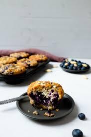 zitronen blaubeer buttermilch muffins mit mandeln schnelle