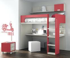 bureau superposé lit superpose fille lit superposac fly inspirations avec cuisine