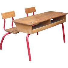 bureau d ecolier bureau d écolier avec casier 1950 design market