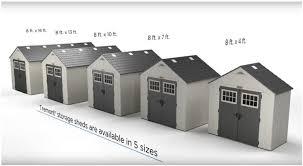 large plastic storage sheds quality plastic sheds
