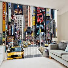 New York Times Square Bedroom Living Room Hotel Door Window