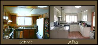 Before And After Kitchen Remodels Small Remodel Pictures 15 Creative