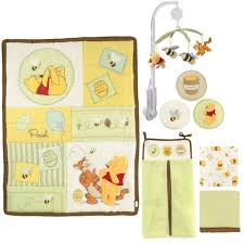 Classic Pooh Crib Bedding by Unisex Baby Bedding Baby Bedding And Accessories