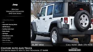 100 2014 Jeep Wrangler Truck Used Unlimited Century Auto And DW