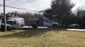 100 Boyer Ford Trucks Inc Crash Brings Down Power Cable Lines At S Junction WFMZ