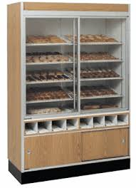Wall Pastry Display Case