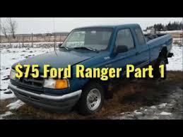ranger part 1 75 ford ranger build project parts ranger part 1