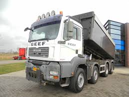 100 Truck Suspension MAN TGA 41480 Tipper 8x4 NL Hydraulic Dump