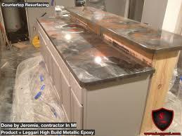 Bathtub Refinishing Training In Canada by Leggari Diy Metallic Epoxy Countertop Resurfacing Kits Another