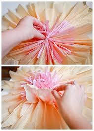 Tutorial How To Make Giant Paper Flowers For A Wedding Or Party Backdrop