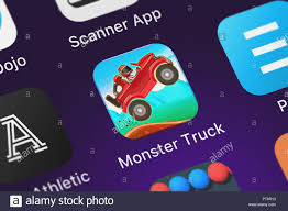 London, United Kingdom - October 05, 2018: Screenshot Of The Monster ... Monster Jam Rumbles Greensboro Coliseum Mobile Game App New Features November 2014 Youtube Tire Truck Stunt Legends Offroading Digging Machine Png Saferkid Rating For Parents Zombie Hill Climb Top Sale Traxxas 3602 110 Grinder 2 Wd Monster Truck Rtr Download Mmx Racing Android Pcmmx On Pc Andy Radiocontrolled Car And Fighter Motor Vehicle Battlegrounds Steam Nitro Mobile Trucks Kids Ranking Store Data Annie