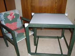 Desk And Chair For Children, Baby, Table Chair And Three In One Vintage  Chair