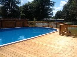 Above Ground Pool Deck Images by Above Ground Pool Decks Above Ground Pool Deck Plans