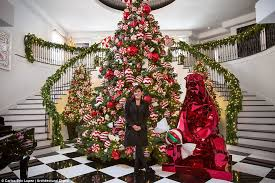22ft Candy Covered Giant To Kims Rockefeller Worthy Wonder And Kourtneys SIX Designs Which Kardashian Has Won The Battle For Best Christmas Tree