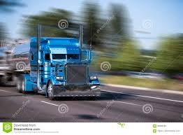 100 Big Blue Trucking Impressive Customized Rig Semi Truck With Tank