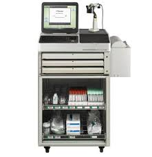 omnicell omnirx half cell automated medication dispensing
