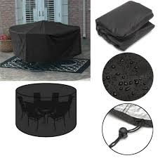 100 Patio Stack Chair Covers 110x230cm Outdoor Garden Furniture Cover Dustproof
