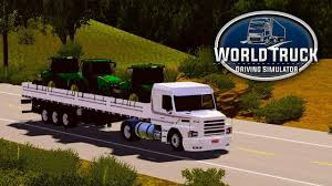 Download World Truck Driving Simulator MOD APK V1,045 (Many Money)
