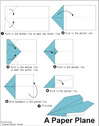 Paper Airplane Origami Airplanes Step Plane Alfaomega Dcrigami Templates