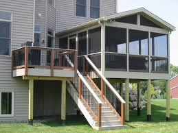 Patio And Deck Combo Ideas by Best 25 Screened Deck Ideas On Pinterest Screened In Deck Back